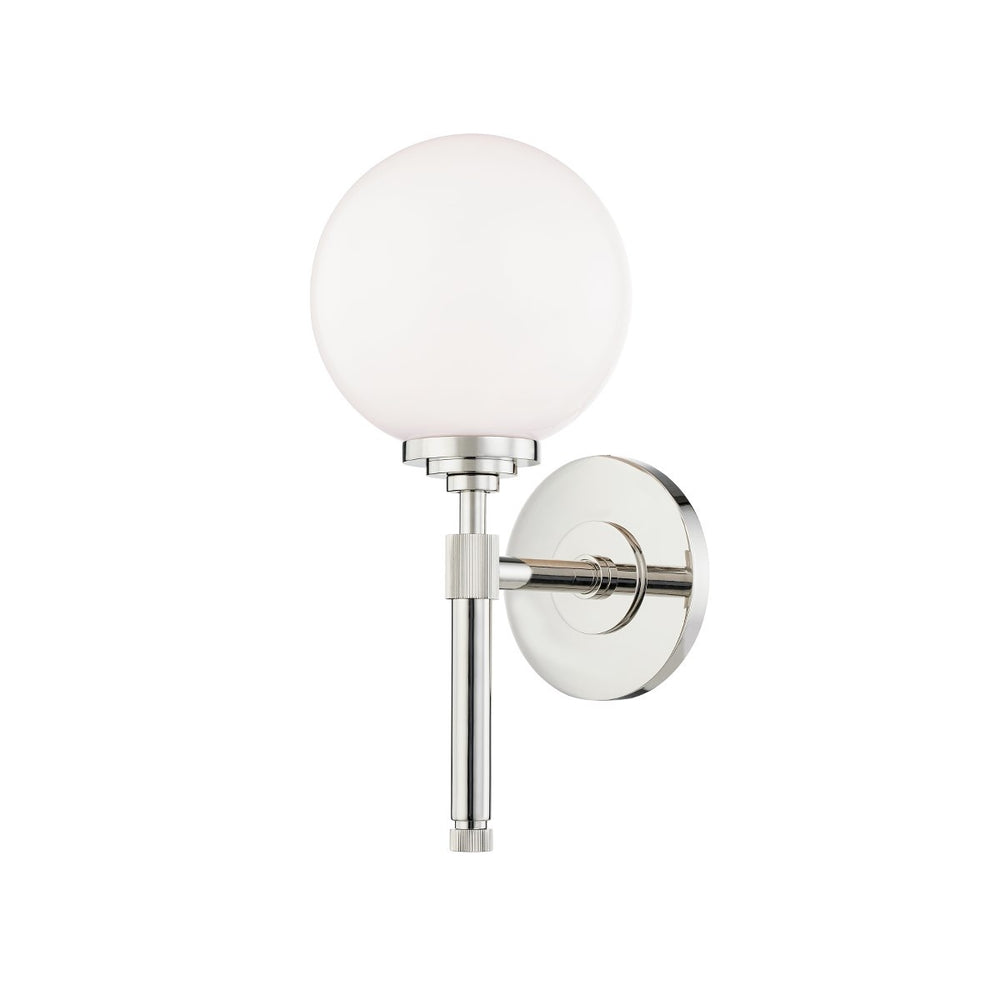 Hudson Valley Polishes Nickel Bowery Wall Lamp - Decolight Ltd