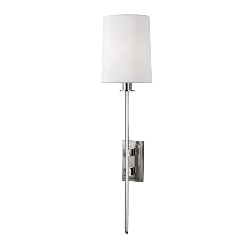 Hudson Valley Fredonia Polished Nickel Wall Light
