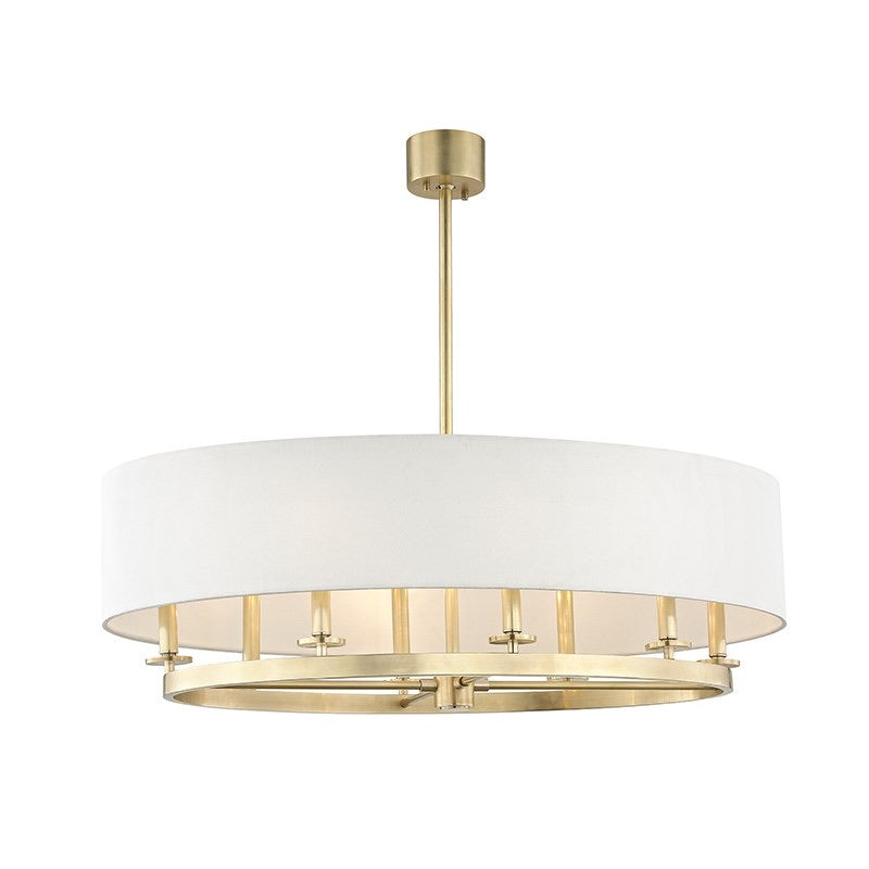 Hudson Valley Lighting Durham Oval Antique Brass Ceiling Pendant - Decolight Ltd