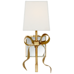 Decolight Ellery Small Bow Wall light in Soft Brass