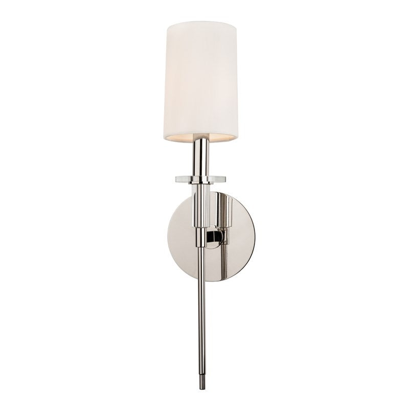 Hudson Valley Amherst Polished Nickel Wall Light
