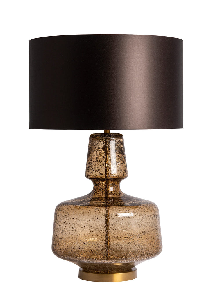 Heathfield & Co Adora Amber Table Lamp - Decolight Ltd