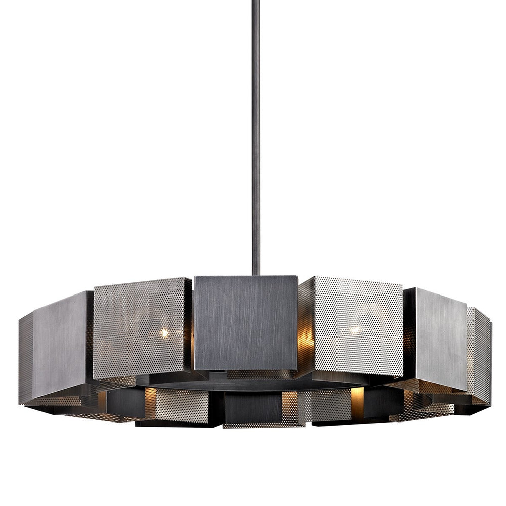 Hudson Valley Large Impression Ceiling Light