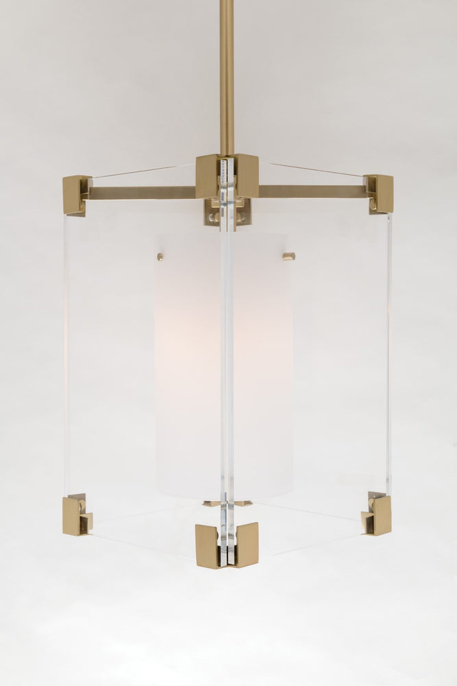 Hudson Valley Polished Nickel Achilles Ceiling Light - Decolight Ltd