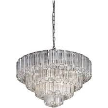 Decolight Nasser Crystal Chandelier Ceiling Pendant Large - Decolight Ltd