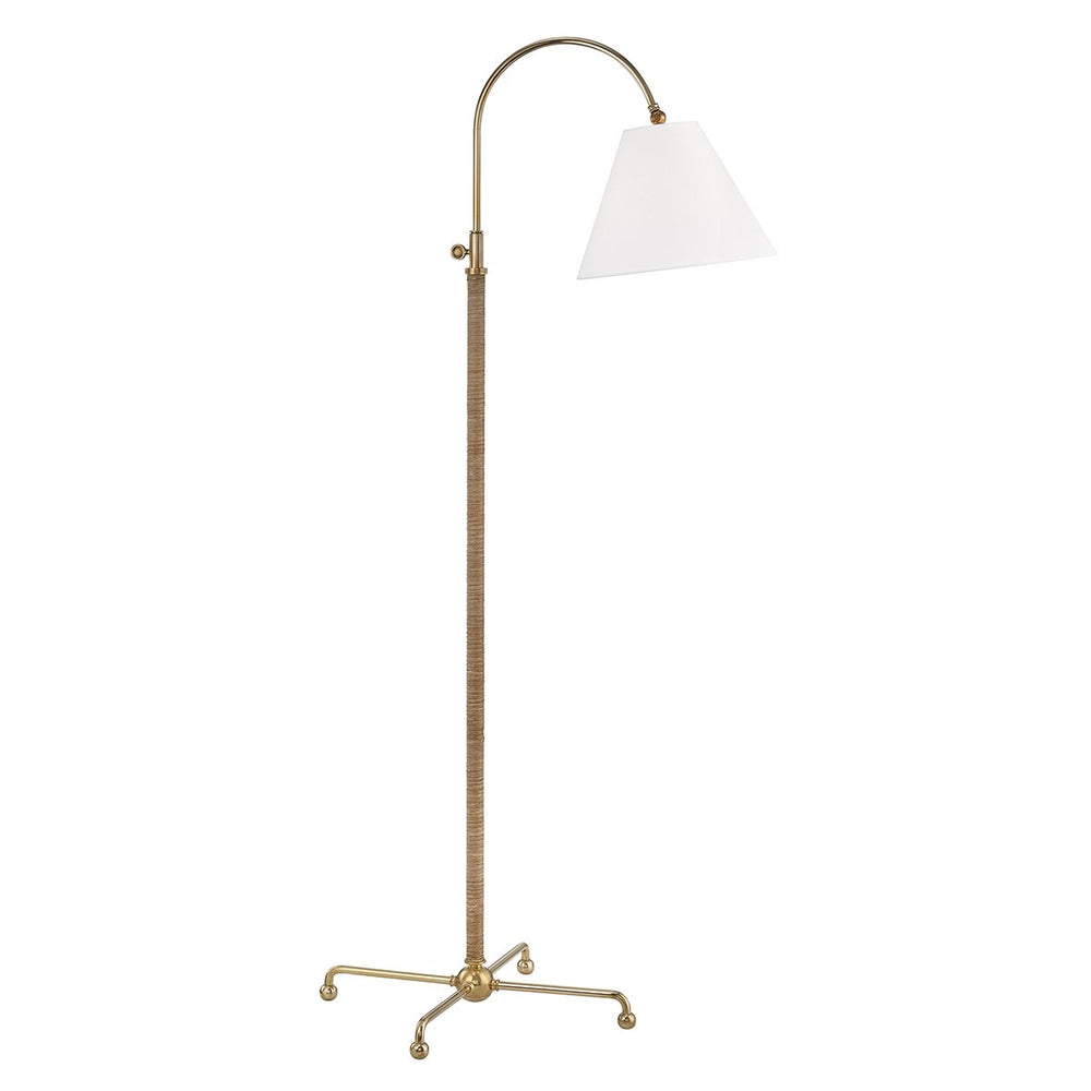Hudson Valley Curves No.1 Polished Nickel Table Lamp