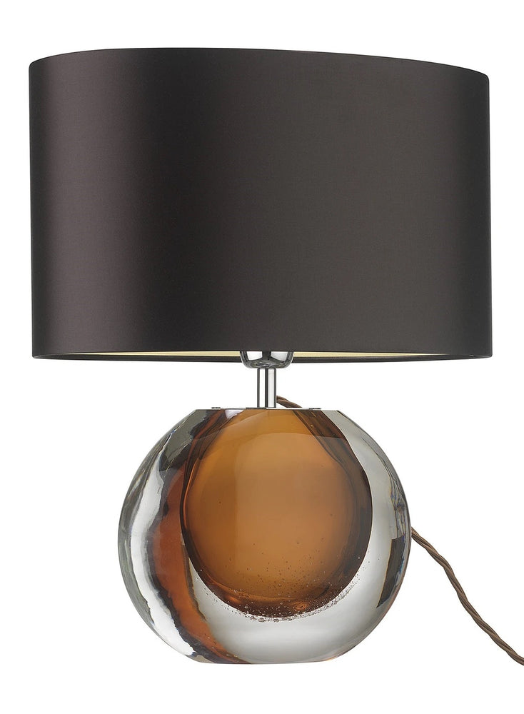 Heathfield & Co Zoffany Gaia Amber Table Lamp - Decolight Ltd