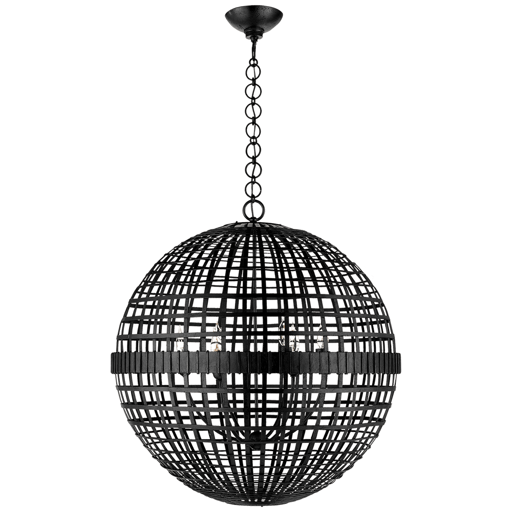 AERIN Mill Ceiling Pendant Black | Visual Comfort | Decolight