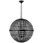 AERIN Mill Ceiling Pendant Black