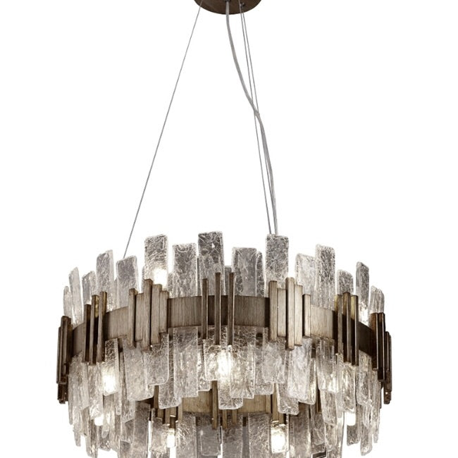 Decolight Saphi Chandelier Ceiling Pendant Medium Gold - Decolight Ltd