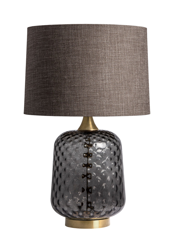 Heathfield & Co Risco Smoke Table Lamp - Decolight Ltd