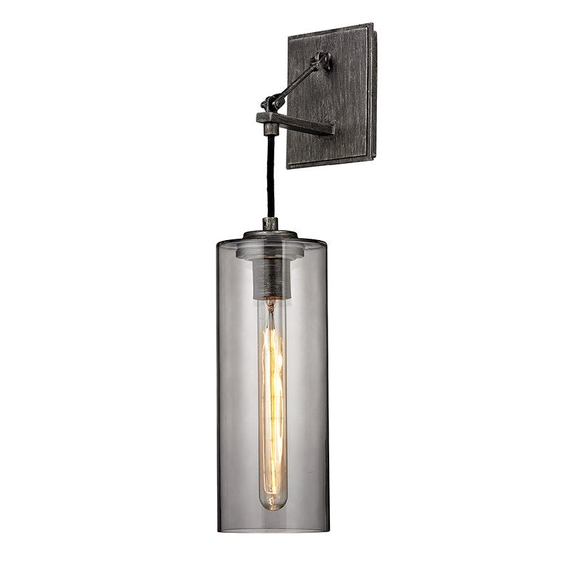 Troy Lighting Union Square Graphite Wall Light - Decolight Ltd