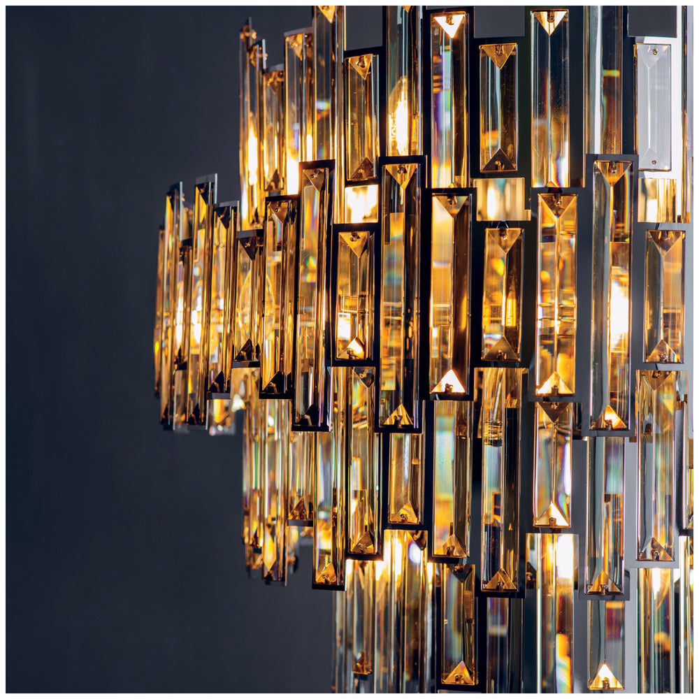 Decolight Salzburg Crystalline Large Chandelier Ceiling Pendant - Decolight Ltd