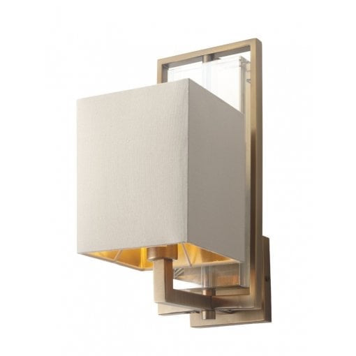 Decolight Laura Wall Light Antique Brass