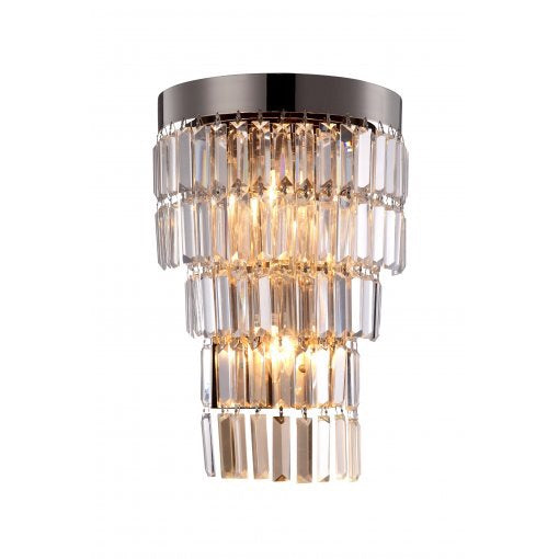 Decolight Gail Crystalline Wall Light ( Aged Brass)