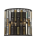 Decolight Emma 2 lt Wall Light Vintage Bronze - Decolight Ltd