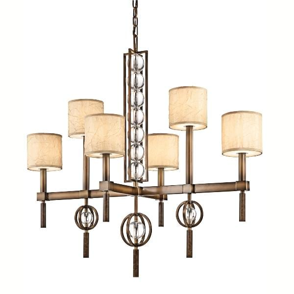 Decolight Clarence 6lt  Chandelier