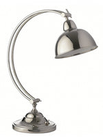Heathfield Oslo Nickel Desk Lamp