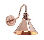 Decoligjht Provence Wall Light Polished Copper pv1cpr