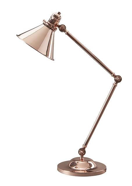 Decolight  Avignon Table Lamp Polished Copper