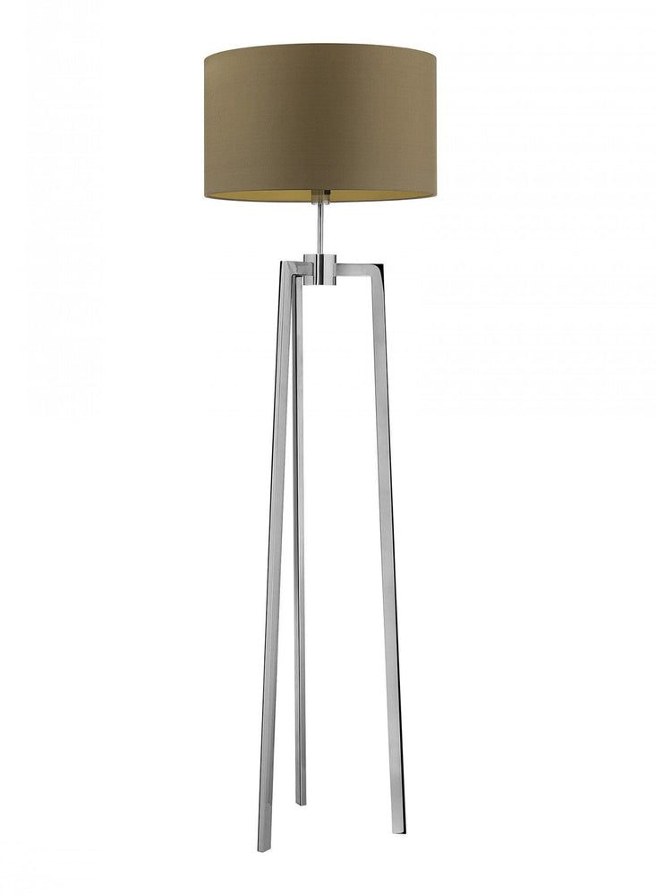 Heathfield Trianon Chrome Floor Lamp