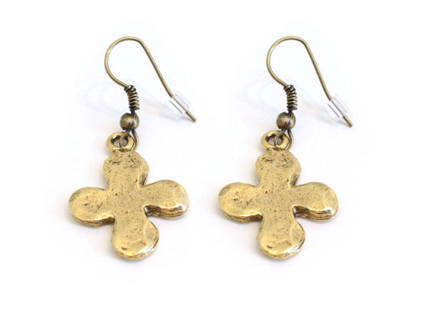 Cross Earrings - The Mother's Necklace - 1