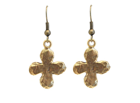 Cross Earrings - The Mother's Necklace - 2
