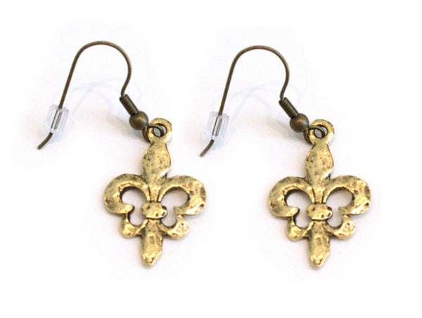 Fleur de Lis Earrings - The Mother's Necklace - 1