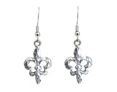 Fleur de Lis Earrings - The Mother's Necklace - 2