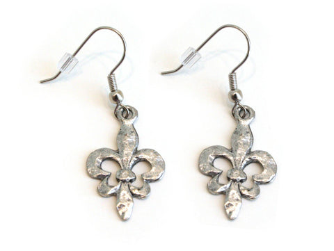 Fleur de Lis Earrings - The Mother's Necklace - 3