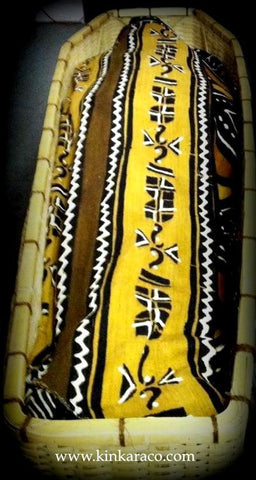 6. The AFRICAINE ™ 100% Cotton Mudcloth shroud