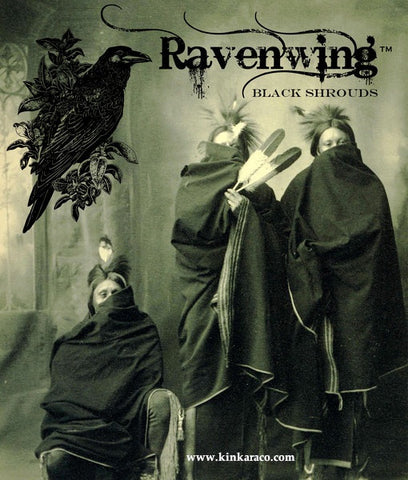 8. RAVENWING™   Pitch Black shrouds