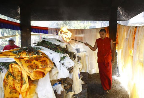 4. The VARANASI™  Silk Cremation Shroud