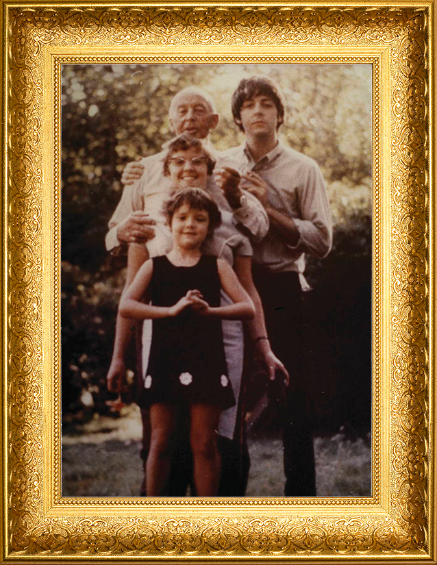 McCartney Family Picture (Glossy 8x10)
