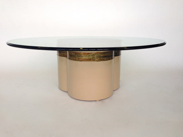 Bernhard Rohne for Mastercraft Trifoliate Coffee Table