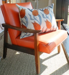 Fabulous pops of color in a bold orange.