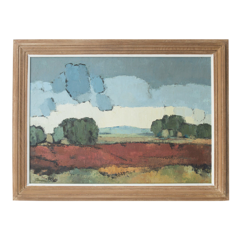Landscape - Abstract Framed