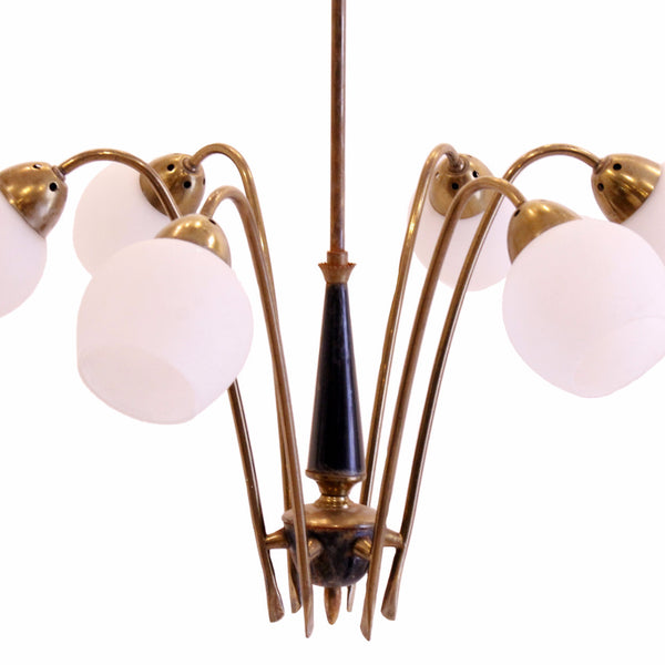 midcentury modern mad men chandelier