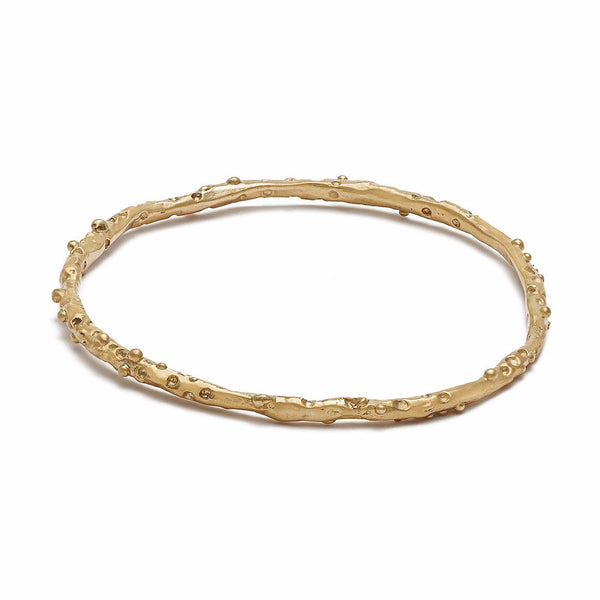 Bronze Caviar Bangle