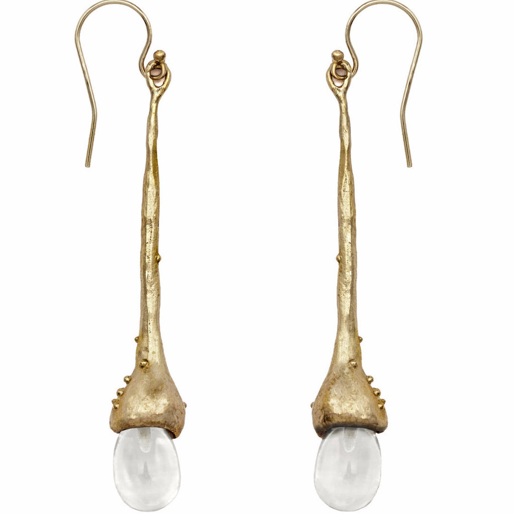 Willow Crystal Quartz Earring