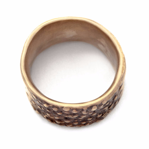 Bronze Pebble Ring