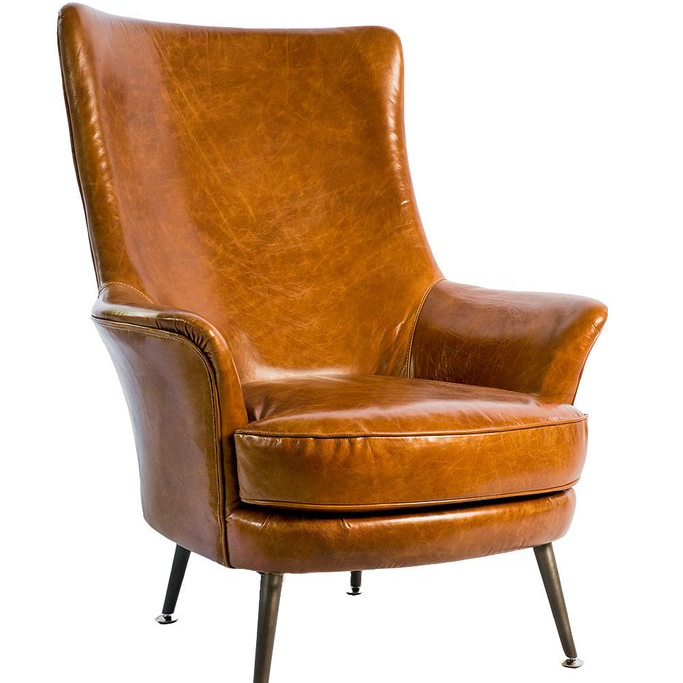 Mod Leather Wingback