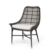 Lucca Outdoor Chair, Espresso