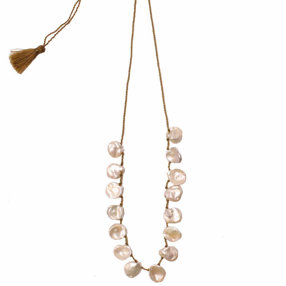 pearl necklace charleston elizabeth stuart design