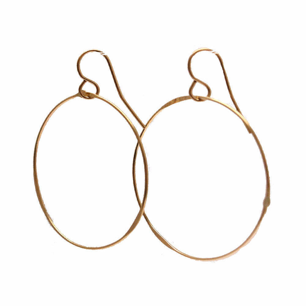 simple gold hoops mount pleasant