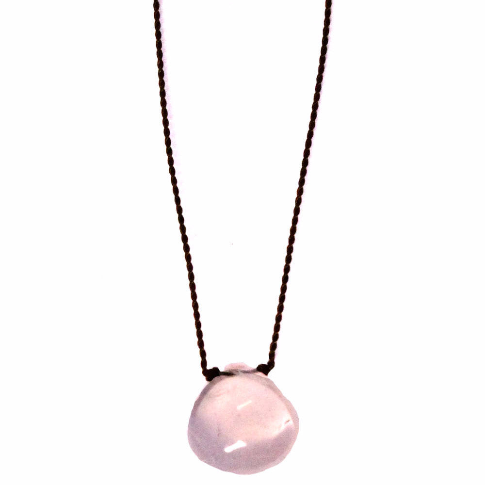 rose quartz gemstone necklace jewelry charleston