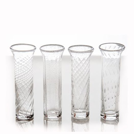 Assorted Bud Vases, A Set of Four