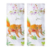 Flowering Squirrel Tea Towel