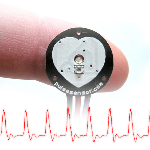 Pulse Sensor (Heart-Rate Monitor)