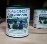 Seal-Once Waterproofer Total Wood Protection